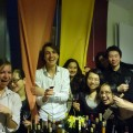 Such a wonderful night with my MSc Wine Business group!