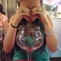 The end of the carafe! Why is the wine always gone?!