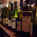 The selection of BYOW at the European Wine Blogger's Dinner after London International Wine Fair!