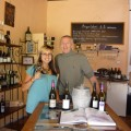 My favorite wine shop and the owner, Bertrand who became such a dear friend and taught me soooo much about wine!