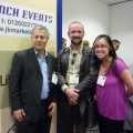 Meeting famous wine writer, Robert Joseph and another well-known wine blogger, Robert McIntosh!