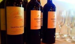 Santa Julia Wines from Family Zuccardi in Argentina