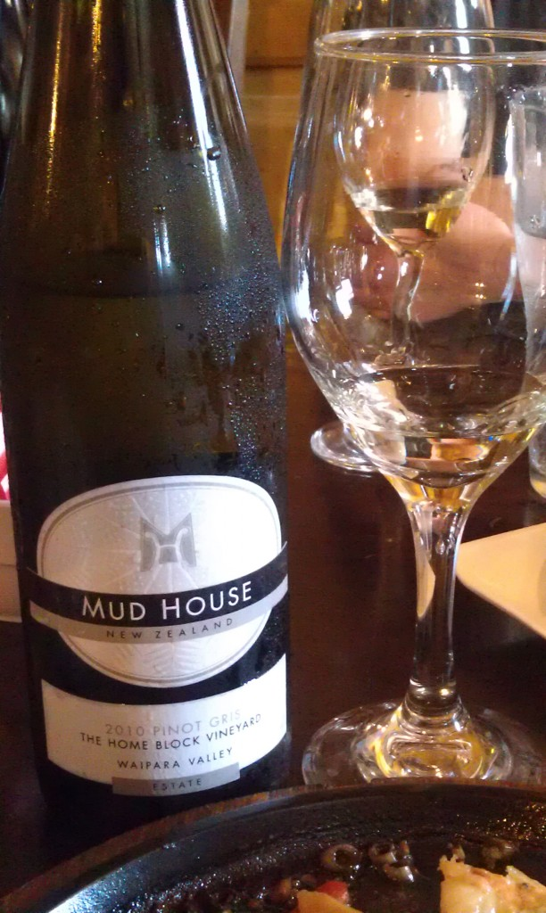 2010 Mud House Estate Pinot Gris (Home Block Vineyard)