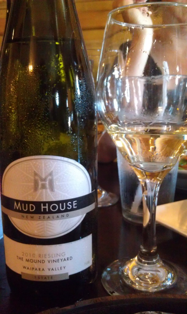 2010 Mud House Estate Riesling (Mound Vineyard)