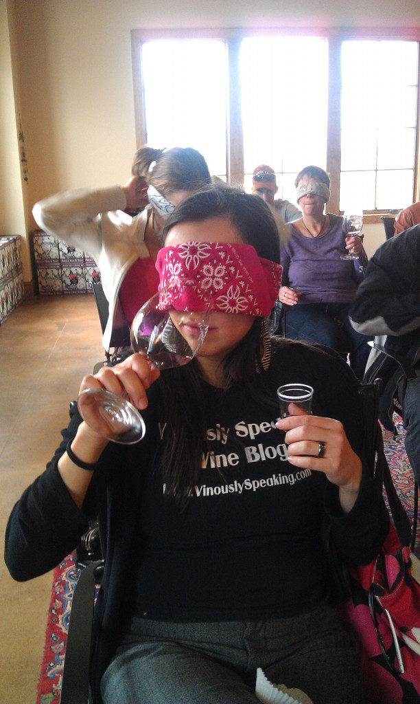 Messina Hof Blindfolded Sensory Appreciation Class