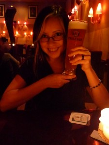 Enjoying German Beer