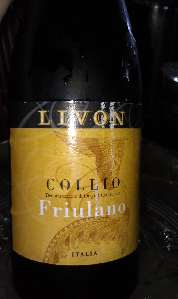 Livon Friulano 2009 - Serendipity Wine Imports