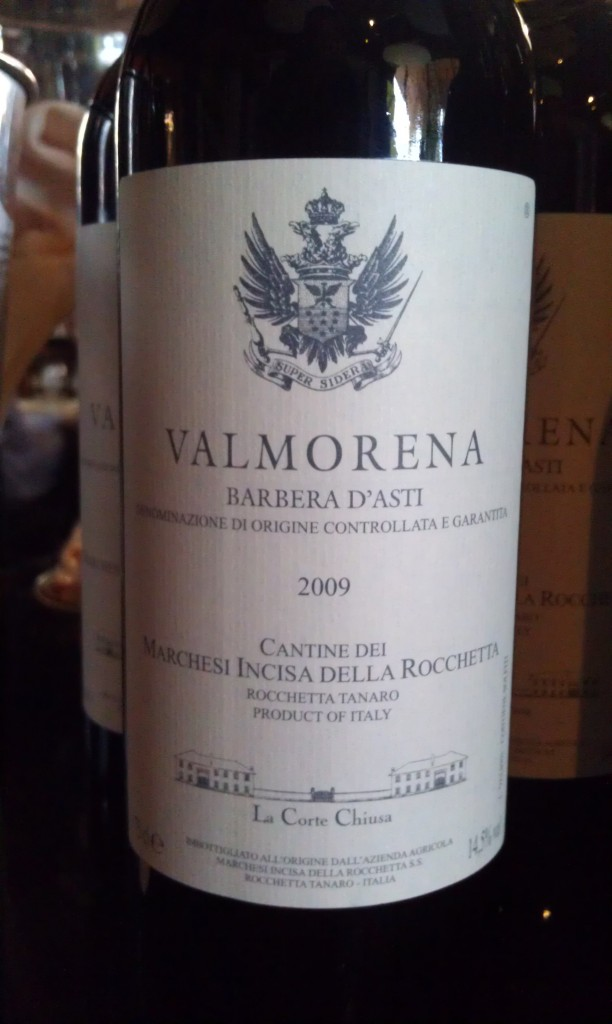 Marchesi Incisa Valmorena Barbera D'Asti 2009 - Serendipity Wine Imports