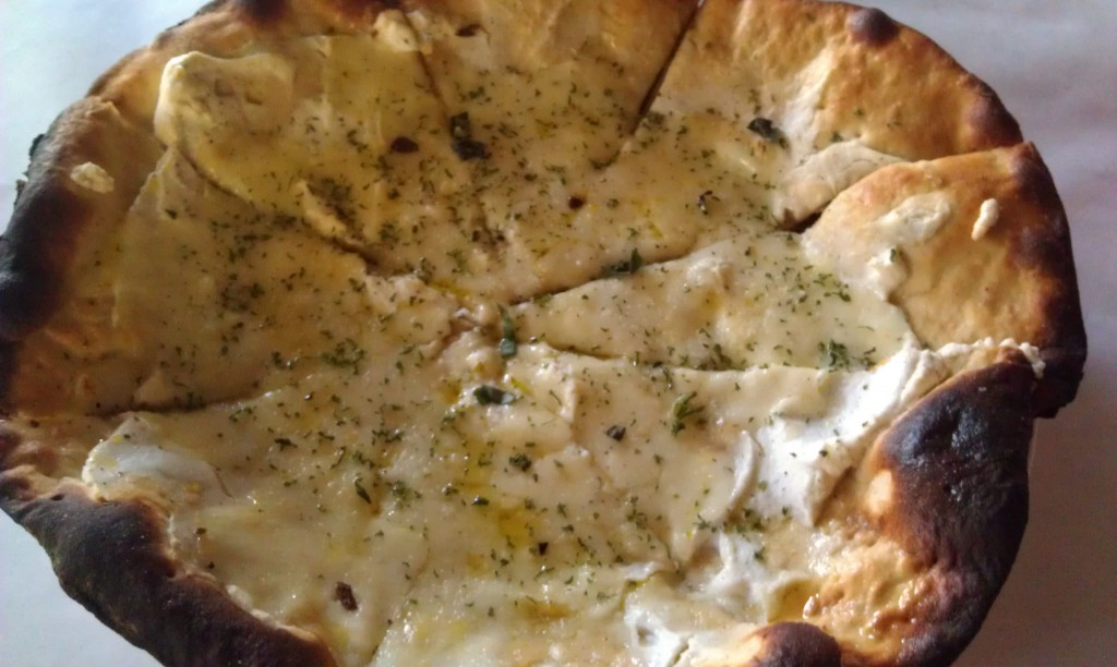 Pizza Bianco at Luce Ristorante & Enoteca