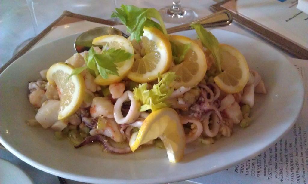 Insalata di Mare at Luce Ristorante & Enoteca