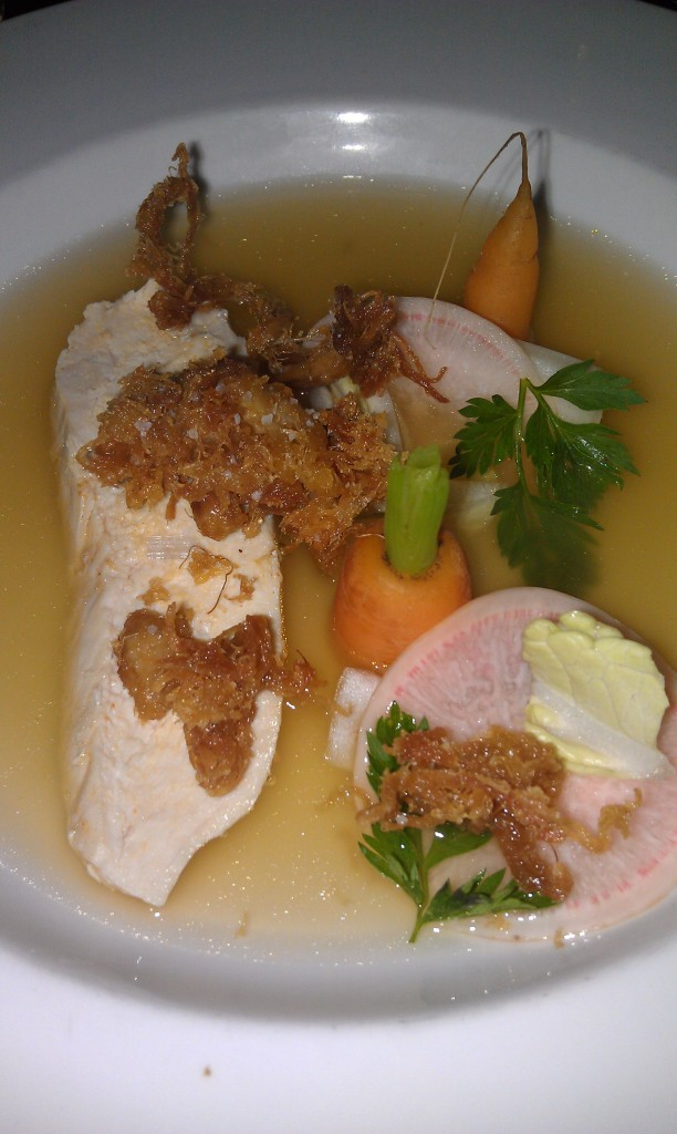 SA Cooks Coalition - Caldo - Carrots, Radish, Puffed Chicken