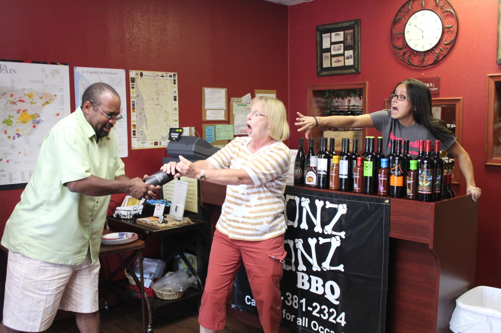 Vinously Speaking - Fighting over the last bottle of Alma de los Andes Malbec