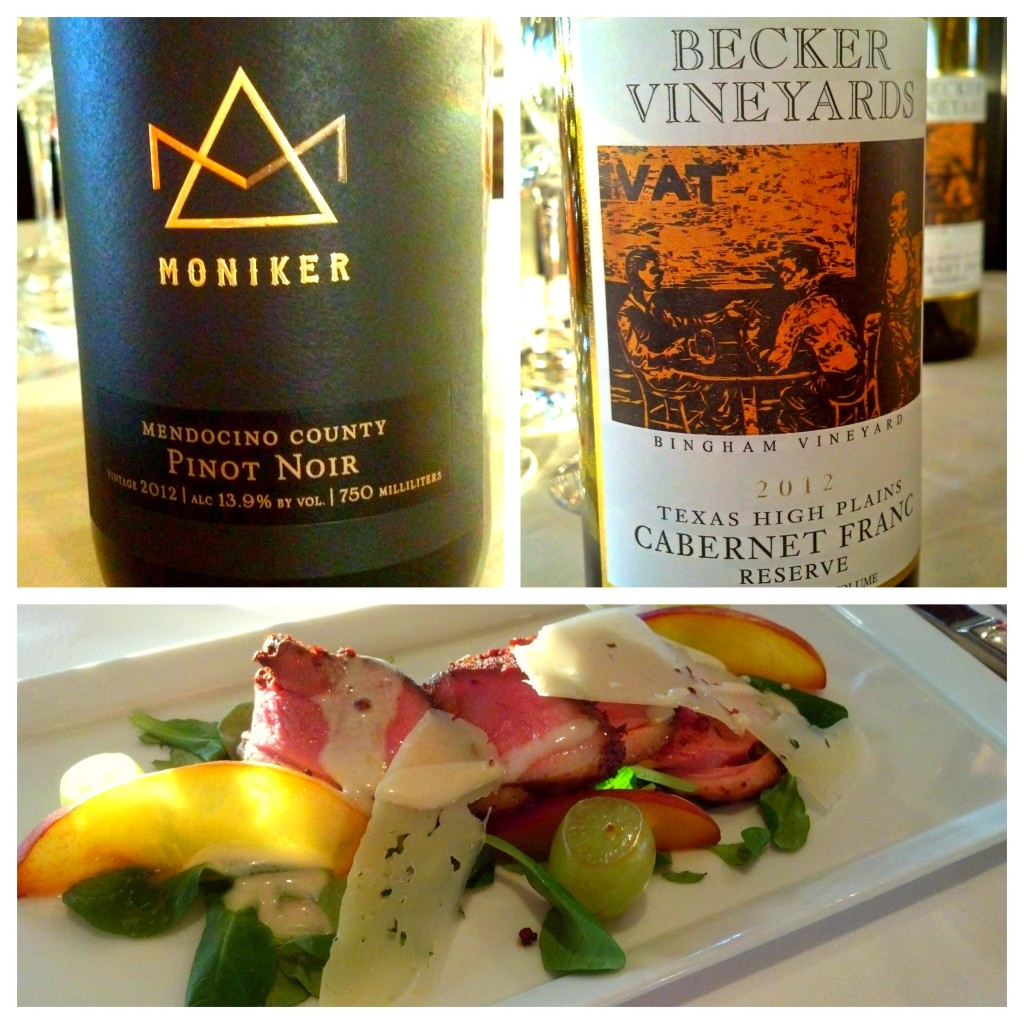 Culinaria Festival Week 2014: Becker Wine Dinner at Francesca's 2