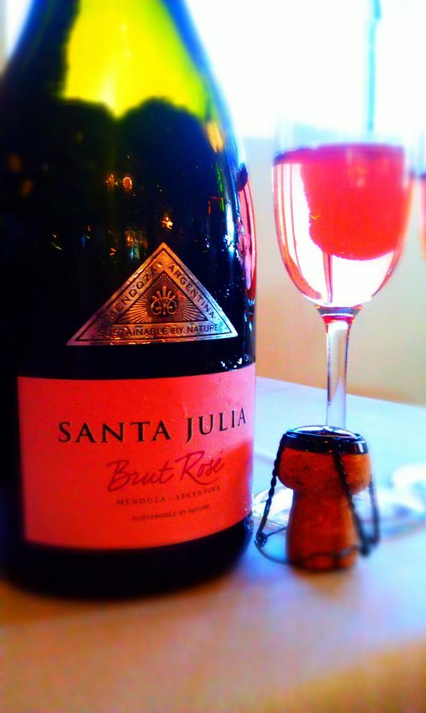 Santa Julia Brut Rosé NV 100% Pinot Noir