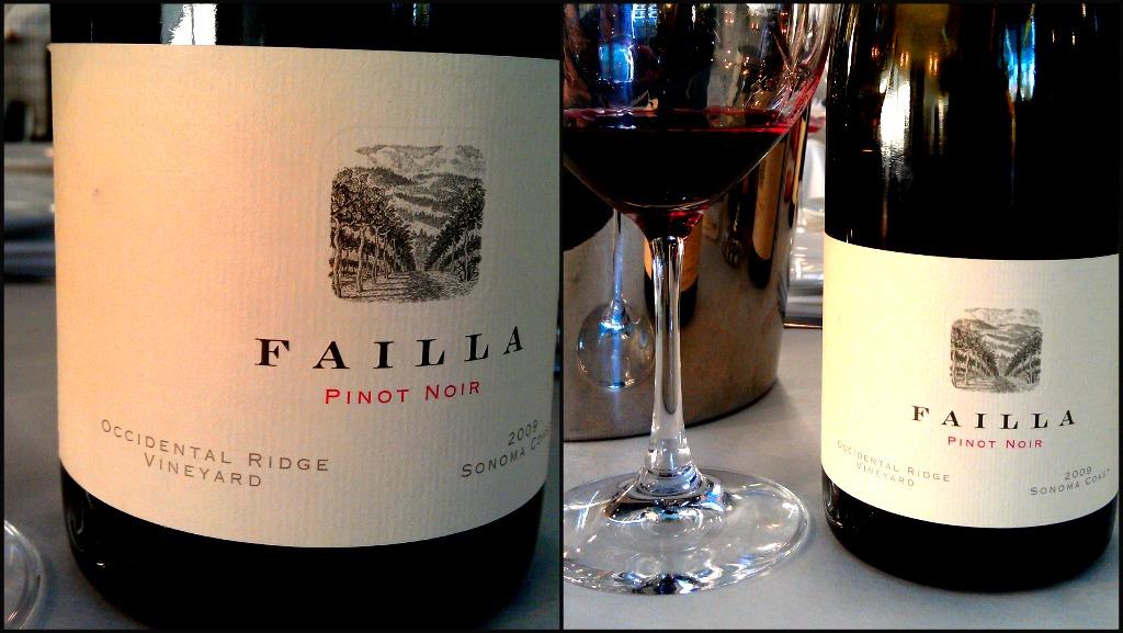 2009 Failla Pinot Noir 'Occidental Ridge' (Sonoma Coast)