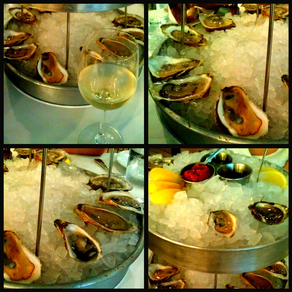 Oyster Feast (6 Different Types) @ Sandbar, Pearl Brewery