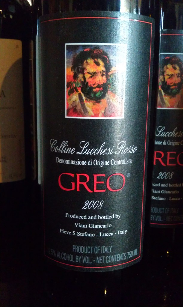 Colline Lucchesi Greo Rosso 2008 - Serendipity Wine Imports