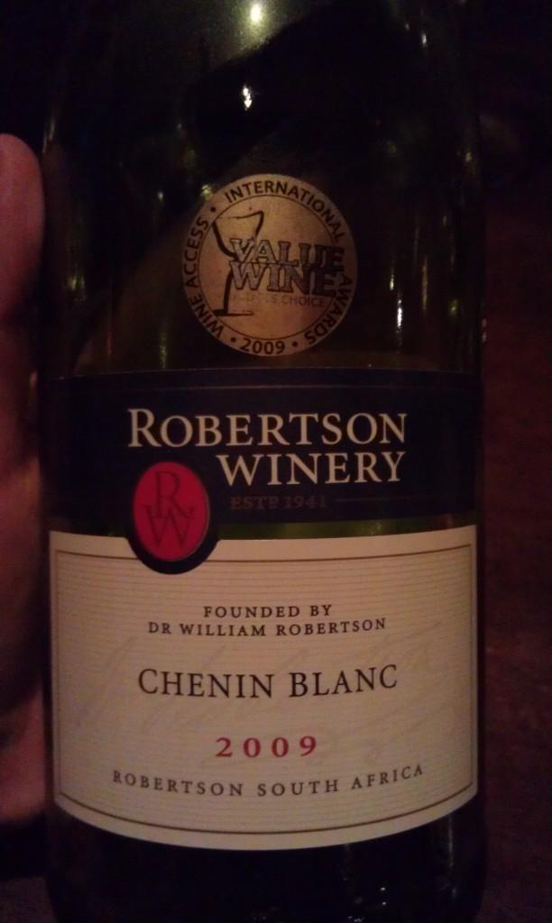 2009 Robertson Winery Chenin Blanc